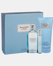 ABERCROMBIE AND FITCH Blue Ladies Xmas Set 100Ml+15Ml+200Bl