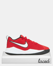 Nike Boys Team Hustle Quick 2 Sneakers Red