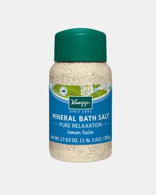"Kneipp Mineral Bath Salt Lemon Balm ""Pure Relaxation"" 500 g"