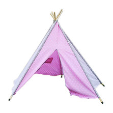 Cheeky Monkey - Soft Pink Teepee