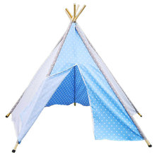Cheeky Monkey - Light Blue Teepee