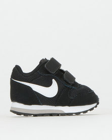Nike Infants Mid Runner Sneakers Black