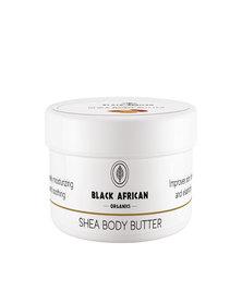 Black African Organics Shea Body Butter, 250g