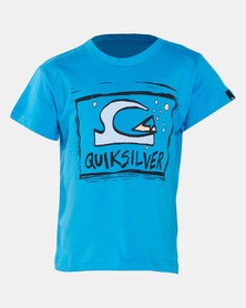 Quiksilver Bubble Dream Boys Short Sleeve T-shirt Blue