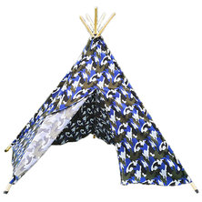 Cheeky Monkey - Blue Camo Teepee