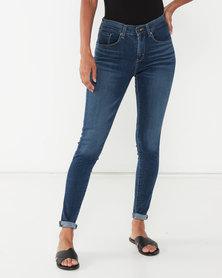 Levi's ® Curvy Skinny Jeans Astro Indigo