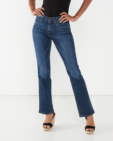 Levi's ® Curvy Bootcut Jeans Crazy For You Blue