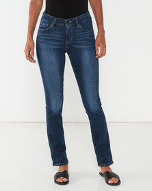 Levi's ® Curvy Straight Jeans Dark Starry Night