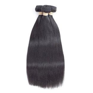 BLKT 12A Peruvian straight weaves 3x bundles 20 inches