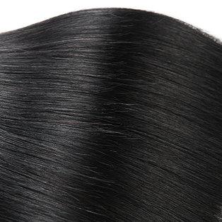 BLKT 12A Peruvian straight weaves 3x bundles 26 inches