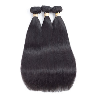 BLKT 12A Peruvian straight weaves 3x bundles 12 inches