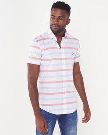 Polo Mens Custom Fit Shirt Sleeved Shirt White