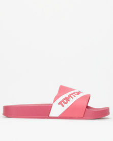 Tom_Tom Relay Slides Mink/White