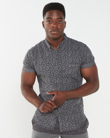 Deacon Arctic Short Sleeved Shirt Light Grey