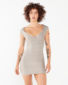 Sissy Boy Baller Twist Dress Mocca