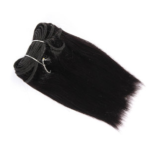 BLKT 6 inches 3x bundles 12A Peruvian straight weaves