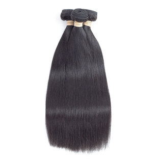 BLKT 12A Peruvian straight weaves 3x bundles 18 inches