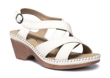 Viauno Sandals White