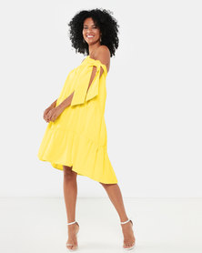 Kissed By LH 3Layer Dress Yellow