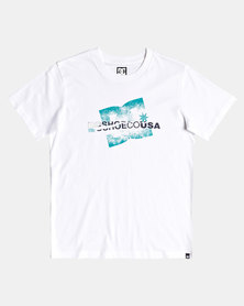 DC Boys Riptrip T-Shirt White