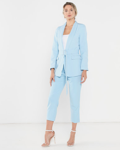 LaMara Paris suit up pastel blue