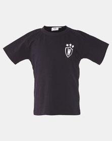 Home Grown Boys Warrior T-shirt Black