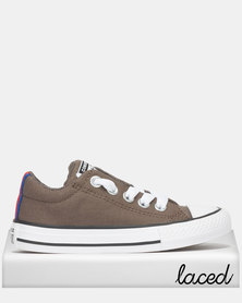Converse Infant Chuck Taylor All Star Street Sneakers Slip Grey