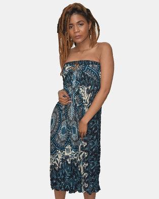 SKA Coconut Belt Skirt Blue