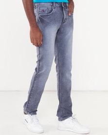 Soviet Sulphur Marcus #9 Slim Fit Denim Jeans Blue