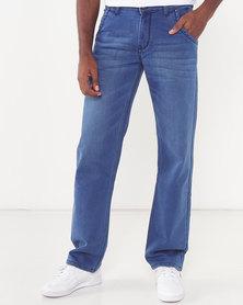 Soviet Zackey #12 Straight Leg Denim Jeans Indigo