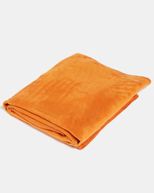Aranda Medium Top Suede Stiched Throw Gold