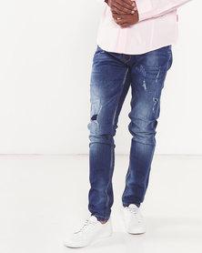 Cutty Action Slim Fit Jeans Indigo