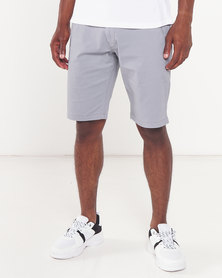 Cutty Fire Cotton Shorts Grey