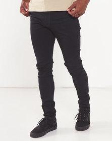 Cutty Electro Skinny Jeans Black