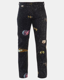 Star Wars x Levi's® 501 Slim Taper Fit Jeans Black