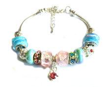 Urban Charm Gemmabella Charm Bracelet - Candyfloss