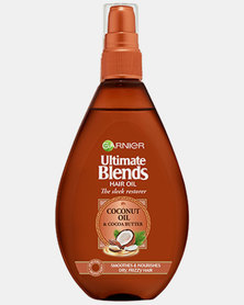 Garnier Ultimate Blends Sleek Restorer Coconut Oil and Coco Butter Oil Spray 150ml