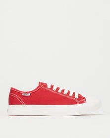 Tomy Takkies Canvas Sneakers Red