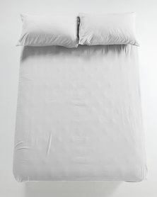 Utopia Fitted Sheet White