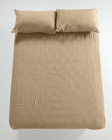Utopia Fitted Sheet Taupe