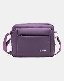 Charmza Ipad/Tablet 9.7 inch Sling/Shoulder Bag Purple