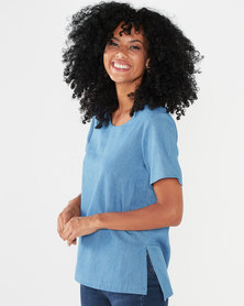 Maya Prass Leona T-shirt Denim