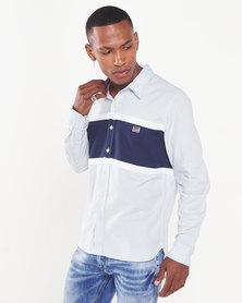 Levi's ®  511 Colour Blocked Shirt Blue