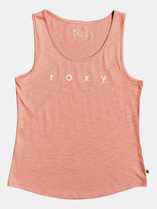 Roxy Red Lines Tank Rosette