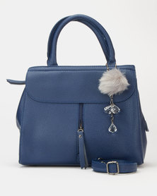 Utopia Structured Satchel Navy