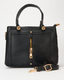 Utopia Square Structured Bag Black
