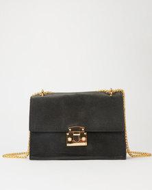 Utopia Chain Strap Rectangular Bag Black