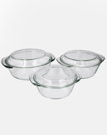 Lush Living 3 Piece Casserole Dish Set