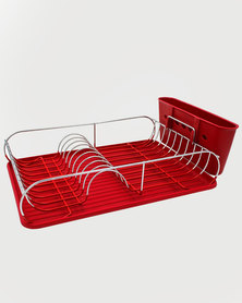 Lush Living Kitchen Drying Rack - Red