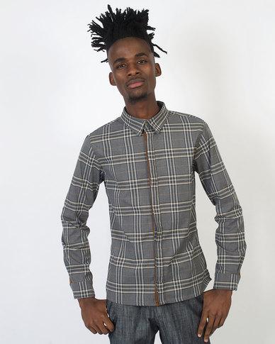 non-european® Check Shirt Charcoal